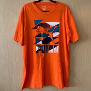 Puma | Orange T-shirt | XL
